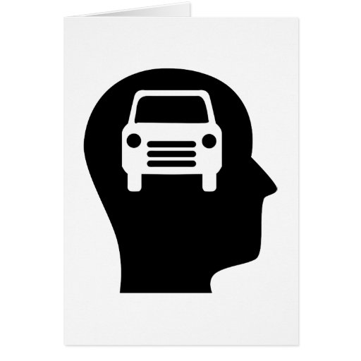 Thinking About Cars Card
