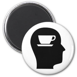 Thinking About Coffee Magnet