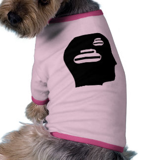 Thinking About Curling Dog Tee