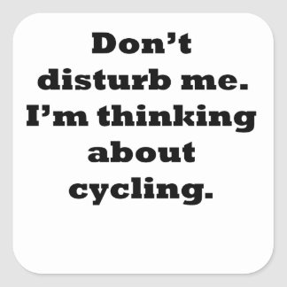 Thinking About Cycling Stickers
