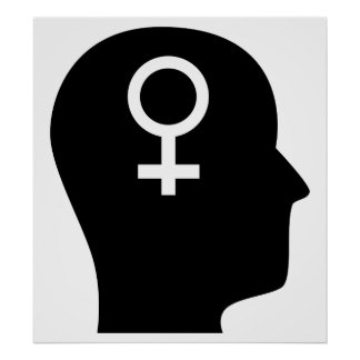 Thinking About Feminism Poster