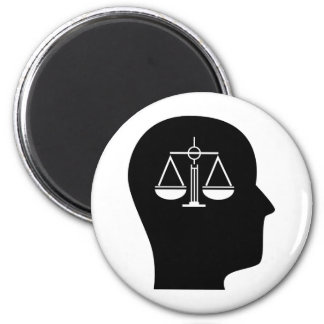 Thinking About Law Fridge Magnet