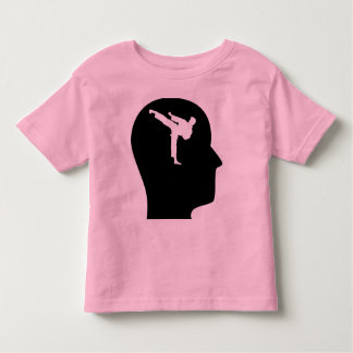 Thinking About Martial Arts Toddler T-shirt