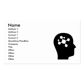 Thinking About Molecular Biology Business Card Templates