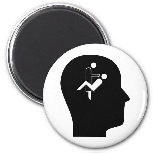 Thinking About Orthodontics Fridge Magnet