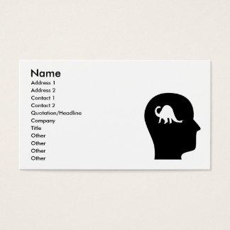 Thinking About Paleontology Business Card