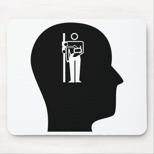 Thinking About Radiology Mouse Pad