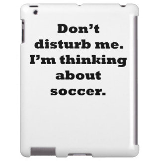Thinking About Soccer