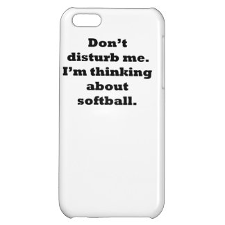 Thinking About Softball Case For iPhone 5C