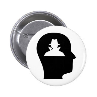 Thinking About Spying Pinback Button