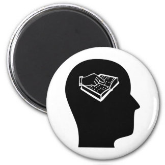 Thinking About Teaching the Visually Impaired 2 Inch Round Magnet