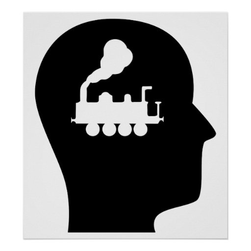 Thinking About Trains Poster