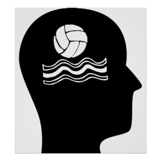 Thinking About Water Polo Posters