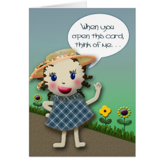 Thinking About You - Card