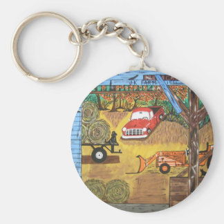 Thinking About You Keychain