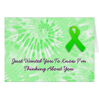 Thinking About You Lyme Disease Card