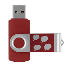 thinking about you USB by DAL Flash Drive