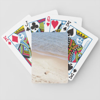 Thinking Beach Playing Cards
