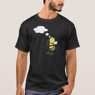 Thinking Bee with Thought Bubble T-Shirt