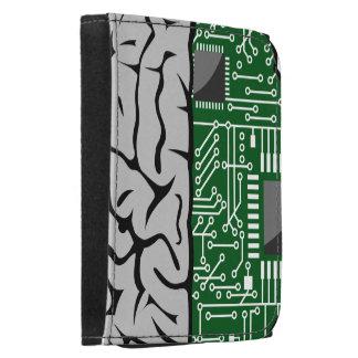 Thinking Binary  Hi-Tech Human Brain Wallet