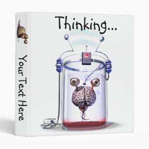 Thinking Brain Ring Binder