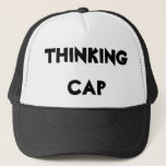 "Thinking Cap<br><div class=""desc"">How many times have you been told to put on your thinking cap? But how can you put on what you don&#39;t own? It&#39;s a dilemma of epic proportions! At long last, your worries are over! This thinking cap will allow you to be the thinker of great thoughts while looking...</div>"