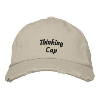 Thinking Cap Embroidered Baseball Cap