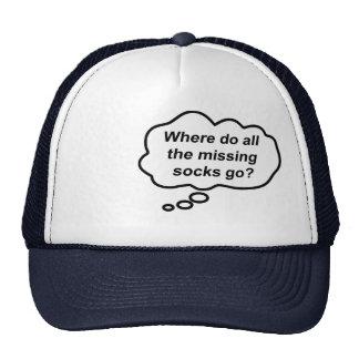 Thinking Cap - Missing Socks Trucker Hat