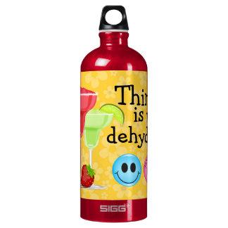 """Thinking"" Cocktail Bottle - SRF SIGG Traveler 1.0L Water Bottle"