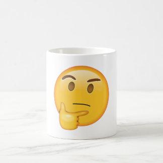 Thinking Face - Emoji Coffee Mug