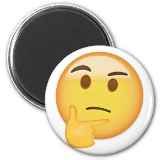 Thinking Face Emoji Magnet