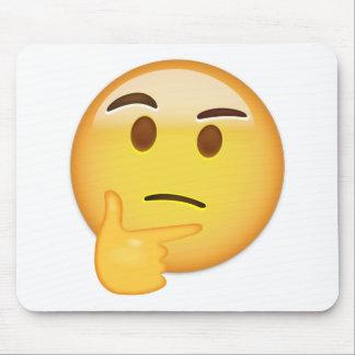 Thinking Face Emoji Mouse Pad