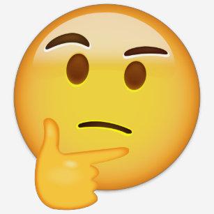thinking face emoji gifts on zazzle