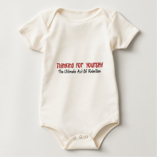 Thinking For Yourself Baby Bodysuit