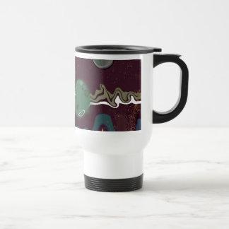 Thinking Forward - Looking Backward Coffee Mugs