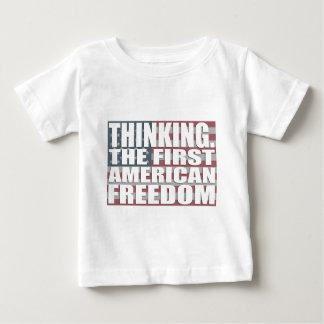 Thinking Freedom Baby T-Shirt