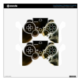 Thinking Gorilla Face Decal For PS3 Controller