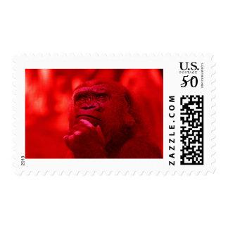 Thinking Gorilla Postage