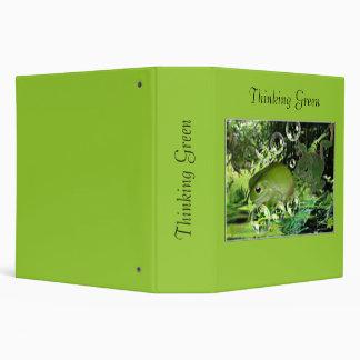 Thinking Green Binder