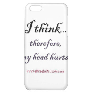 Thinking hurts case for iPhone 5C