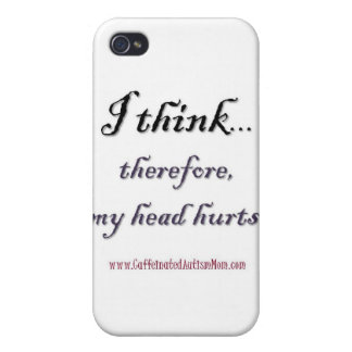 Thinking hurts iPhone 4/4S covers