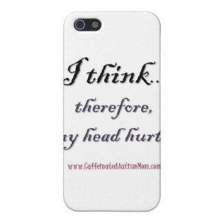 Thinking hurts iPhone 5 case