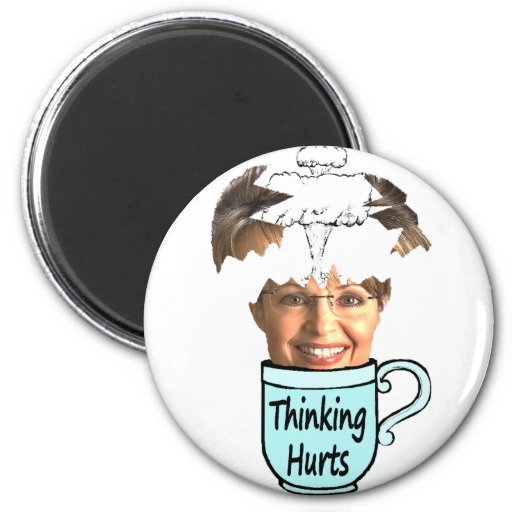 thinking hurts magnet