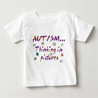 Thinking in pictures baby T-Shirt