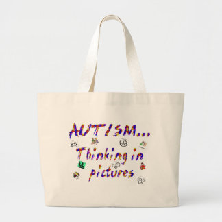 Thinking in pictures tote bag