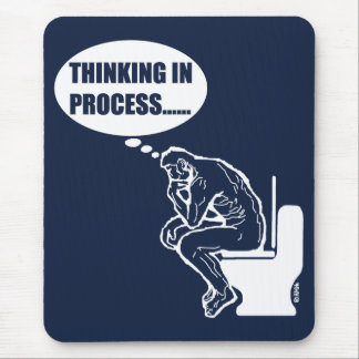 Thinking in process mouse pad