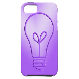 thinking in purple iPhone SE/5/5s case