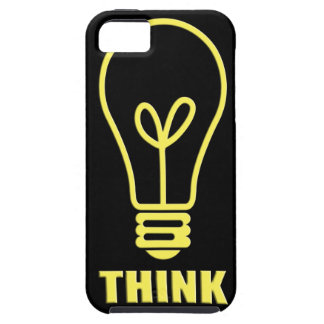 Thinking in yellow iPhone SE/5/5s case