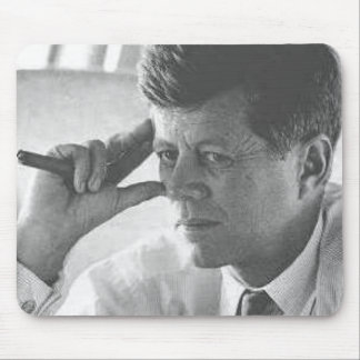Thinking Kennedy Mouse Mat
