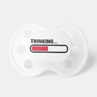 Thinking loading pacifiers